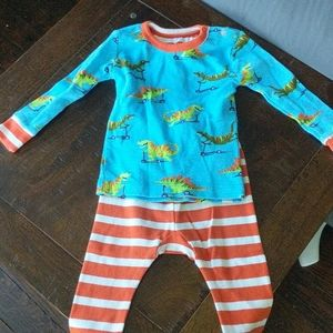 Boys Hatley 9 to 12-month pajama set new no tags